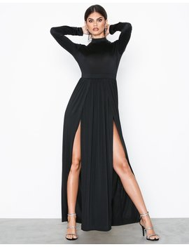 Double Slit Ls Dress by Nly One