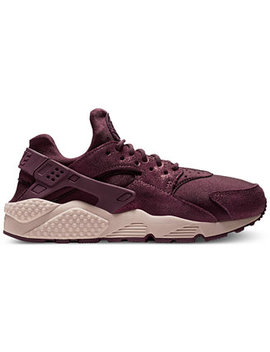 Women's Air Huarache Run Bl Running Sneakers From Finish Line by Nike
