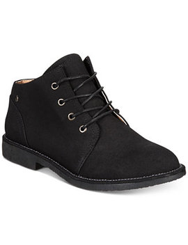 Malise Lace Up Booties by Seven Dials