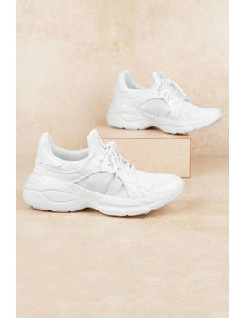 Piers White Sneakers by Tobi