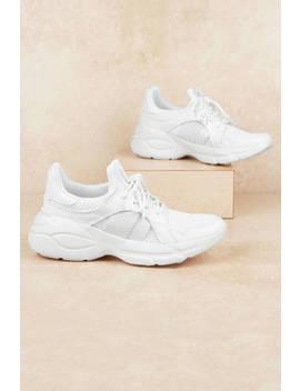 Piers White Sneakers by Tobi