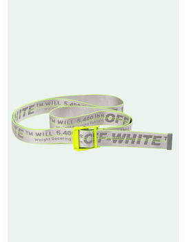 Fluo Yellow Industrial Belt by Off White