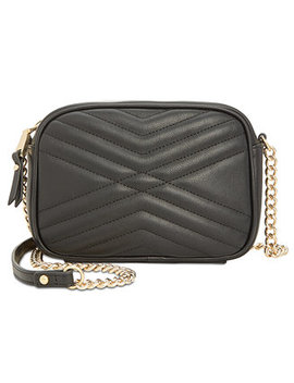 I.N.C. Glam Quilted Camera Crossbody, Created For Macy's by Inc International Concepts