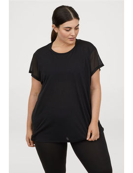 Wide Sports Top by H&M