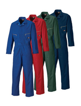"Dickies Wd4879 Redhawk Zip Premium Deluxe Overall Coverall In 34"" Leg (Long) by Ebay Seller"