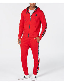 Mens Logo Fleece Sweatsuit by Michael Kors
