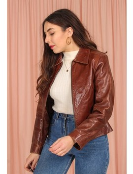 Vintage Leather Jacket by Dirty Disco