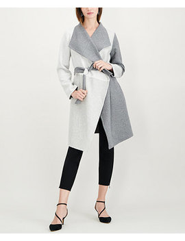 Colorblocked Belted Jacket, Created For Macy's by Alfani