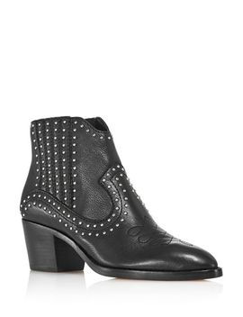 Women's Dexter Studded Booties   100 Percents Exclusive by Dolce Vita
