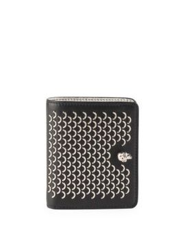 Skull New Leather Wallet by Alexander Mc Queen