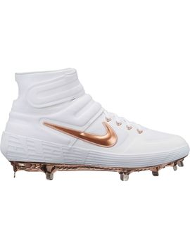 Nike Men's Alpha Huarache Elite 2 Mid Baseball Cleats by Nike