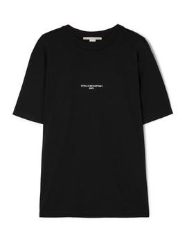 T Shirt Aus Baumwoll Jersey Mit Print by Stella Mc Cartney