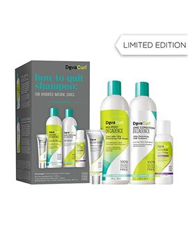 Deva Curl How To Quit Shampoo Kit For Natural Curls by Deva Curl