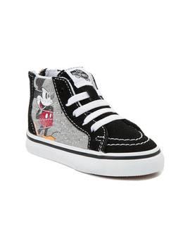 Disney X Vans Toddler Sk8 Hi Zip Skate Shoe by Vans