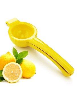 New Star Foodservice 42856 Enameled Aluminum Lemon Squeezer, Silver by New Star Foodservice