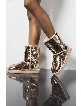 Ugg Short Classic Sequin Boot by Akira