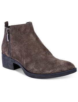 Women's Levon Zip Up Ankle Booties by Kenneth Cole New York