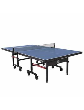 Stiga Advantage Competition Ready Indoor Table Tennis Table 95 Percents Preassembled Out Of The Box With Easy Attach And Remove Net by Stiga