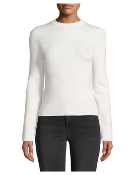 Riddi Crewneck Long Sleeve Top by The Row