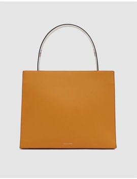 Young Tote Bag In Ocra by Danse Lente