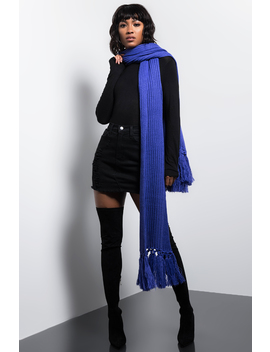 Bright Lights Knitted Scarf by Akira