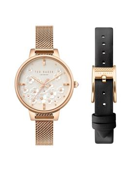 Kate Mesh Strap Watch Set, 38mm by Ted Baker London