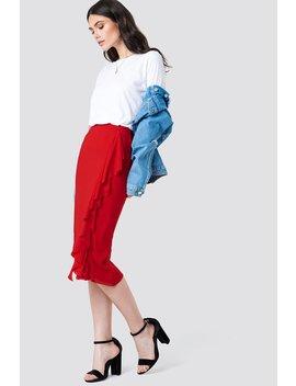 Front Frill Mesh Skirt by Kristin Sundberg For Na Kd