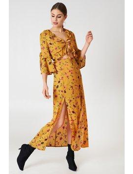 Short Sleeve Midi Dress by Glamorous