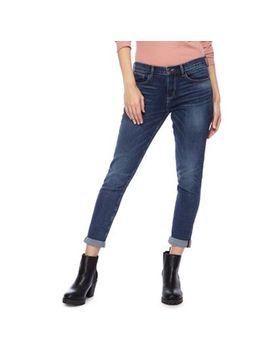 Red Herring   Dark Blue 'chloe' Mid Wash Girlfriend Jeans by Red Herring