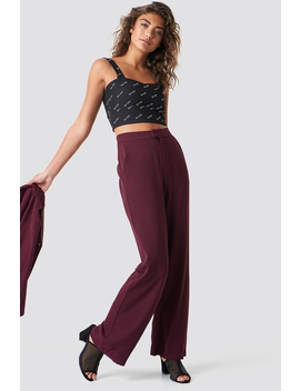 Wide Leg Tailored Pants by Na Kd Classic