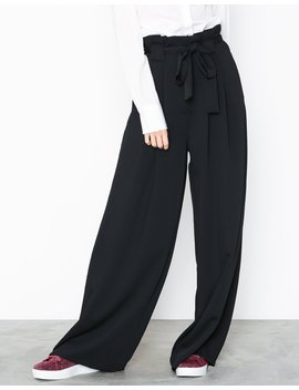 Super Wide Leg Trousers by River Island