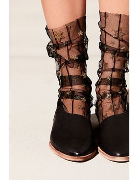 Starry Tulle Socks by Free People
