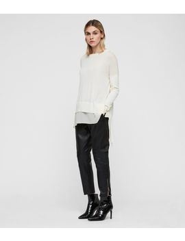 Libby Crew Neck Jumper by Allsaints