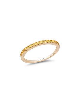 Le Vian® 14 K 0.24 Ct. Tw. Yellow Sapphire Ring by Le Vian