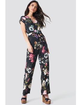Floral Printed Jumpsuit by Trendyol