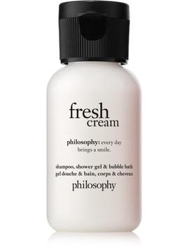 Travel Size Fresh Cream Shampoo, Shower Gel & Bubble Bath by Philosophy