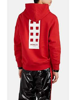 """""""Im So High"""" Cotton Fleece Hoodie by 8 Moncler Palm Angels"""