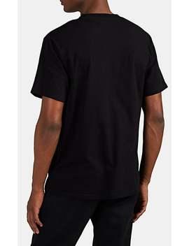 Logo Cotton T Shirt by 7 Moncler Fragment