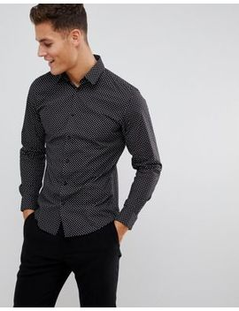 Selected Homme Star Print Shirt In Slim Fit by Selected Homme