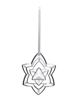 2018 Annual Crystal Christmas Ornament, Clear by Baccarat