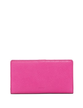 Caroline Bi Fold Leather Wallet   Rfid Protection by Fossil