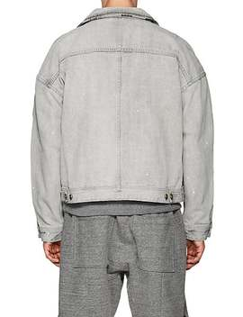 Distressed Selvedge Denim Jacket by Fear Of God