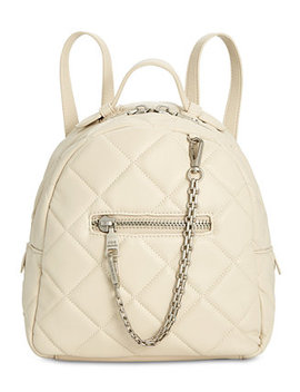Selma Box Quilt Backpack by Steve Madden