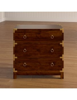 Mercer41 Mathis 3 Drawer Accent Chest & Reviews by Mercer41
