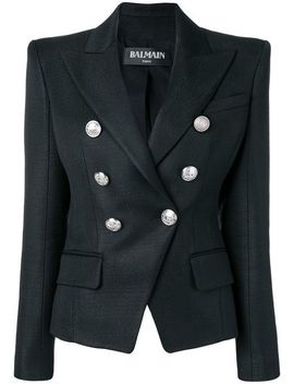 Pointed Shoulders Blazer by Balmain