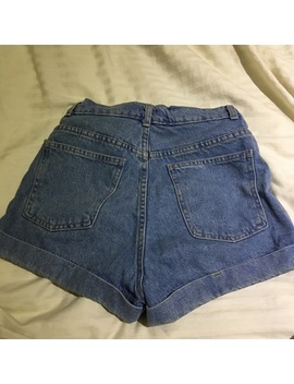 American Apparel High Waisted Light Blue Shorts by American Apparel