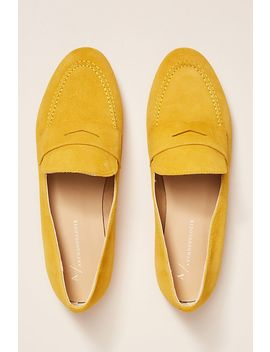 Anthropologie Suede Loafers by Anthropologie