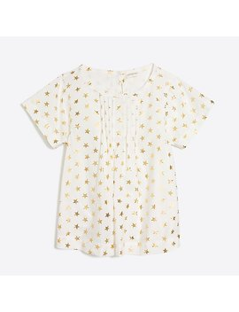 Girls' Short Sleeve Starry Top by J.Crew