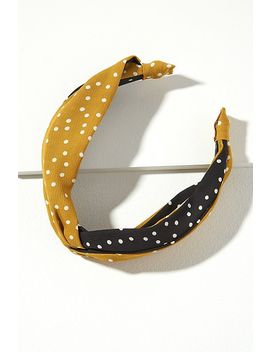 Martie Polka Dot Headband by Anthropologie