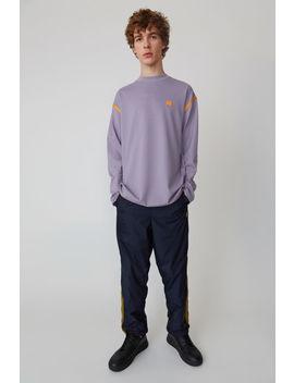 Crewneck Sweater Mauve Purple by Acne Studios